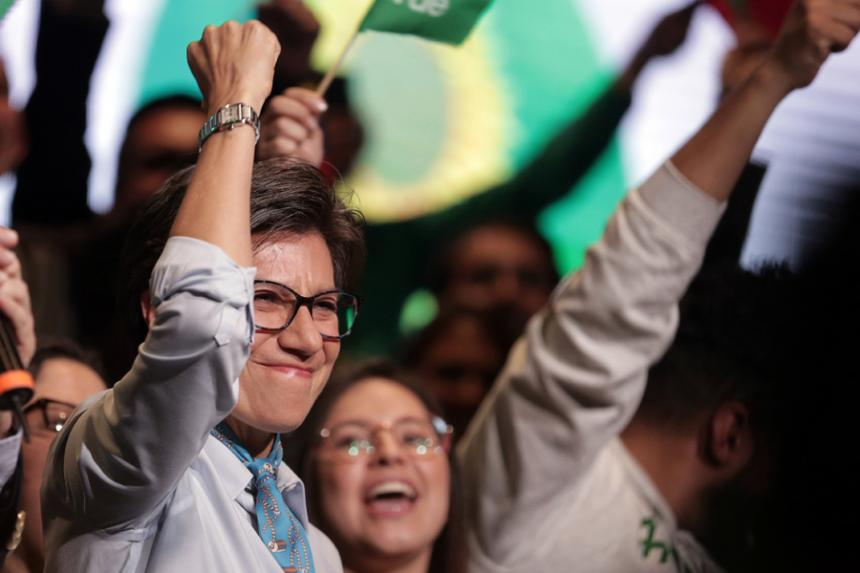Claudia López es proclamada candidata presidencial para elecciones 2018 — Alianza Verde