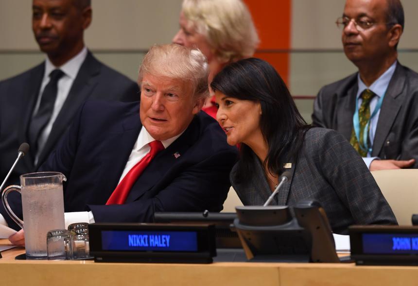 La vicepresidenta participará de una cena con Donald Trump