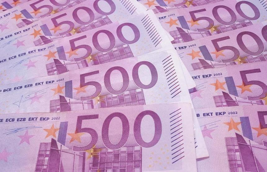 Investigan presencia de billetes de 500 euros en retretes de Ginebra