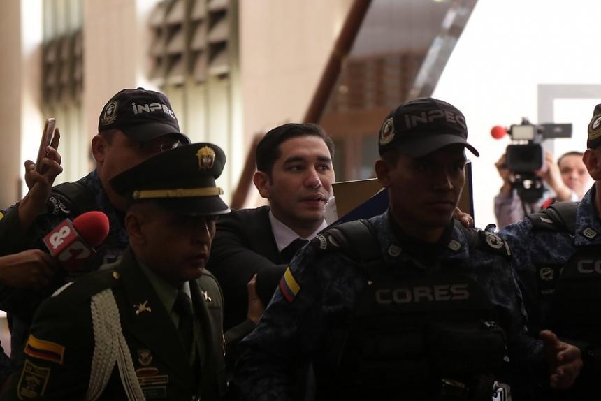 Arrestan a expresidente del Tribunal Supremo de Colombia, por corrupto