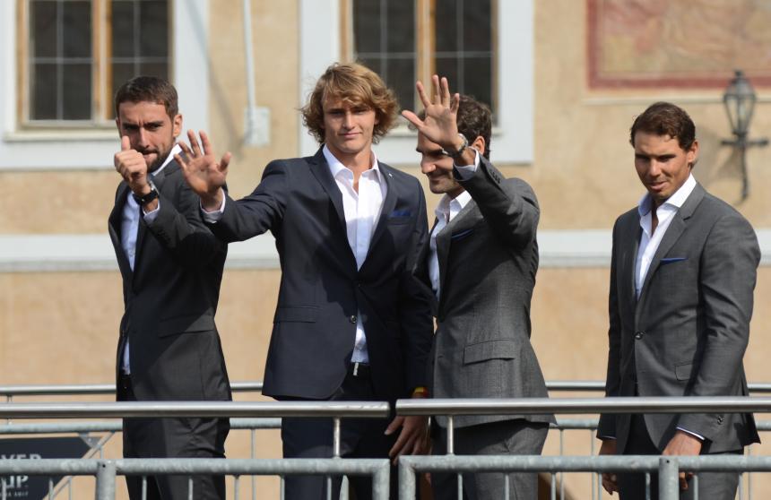 Del Potro anuncia su baja de la Copa Laver de Praga