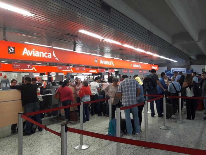 Pilotos de Avianca, en huelga