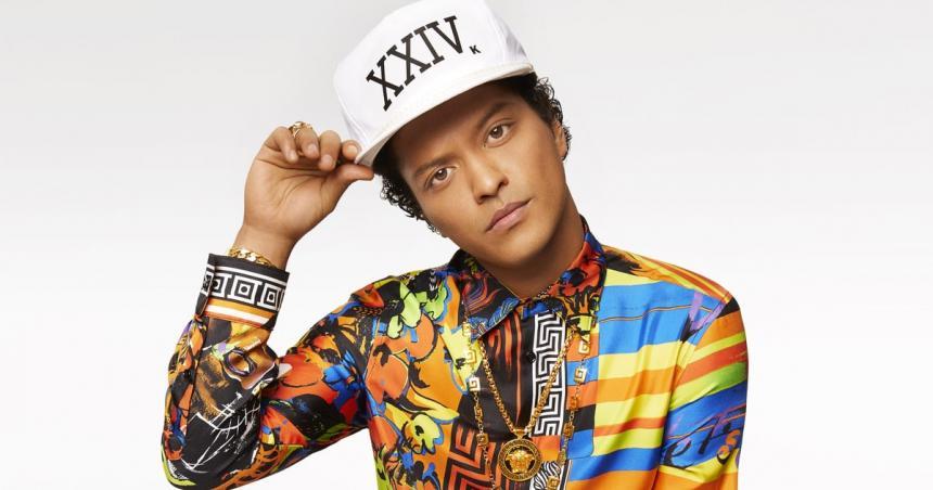 ¡Confirmado! Bruno Mars se presenta el 5 de diciembre en Bogotá