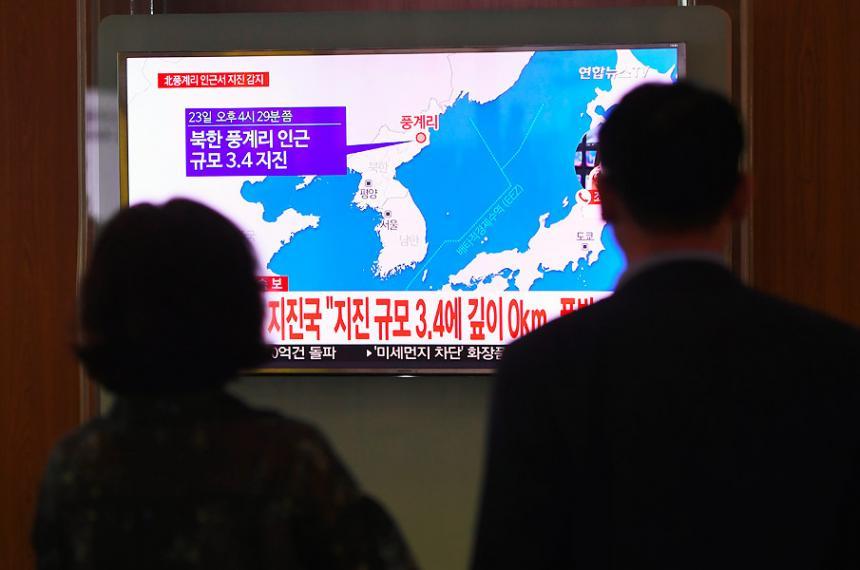 Posible 'explosión' causa terremoto en Norcorea