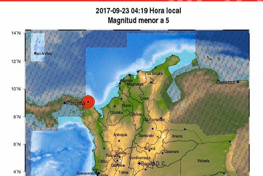 tomado de Red Sismológica Nacional de Colombia