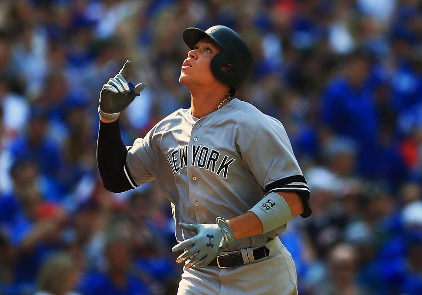 Aaron Judge rompe marca de Mark McGwire