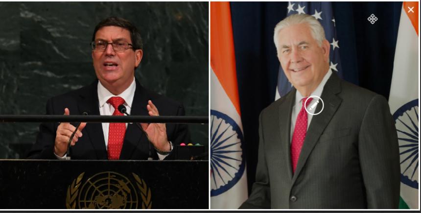 Cuba reitera su compromiso con la seguridad de diplomáticos de EE.UU