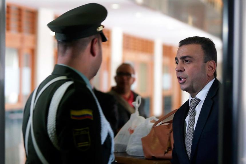 Fiscalía solicitará circular azul de Interpol contra Musa Besaile