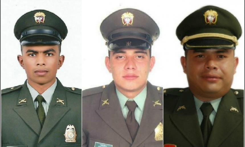 El presidente Juan Manuel Santos repudió asesinato de tres policías en Cauca