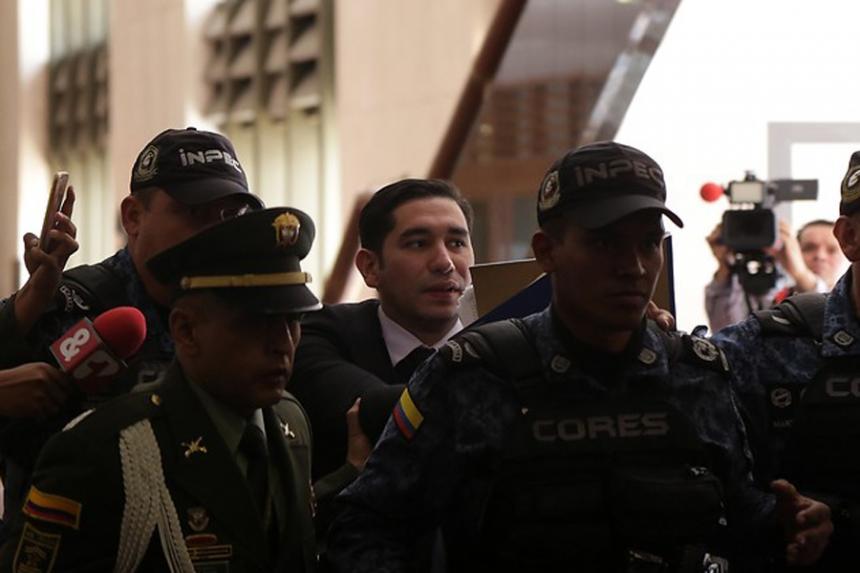 Ex fiscal Gustavo Moreno, enviado a una guarnición militar