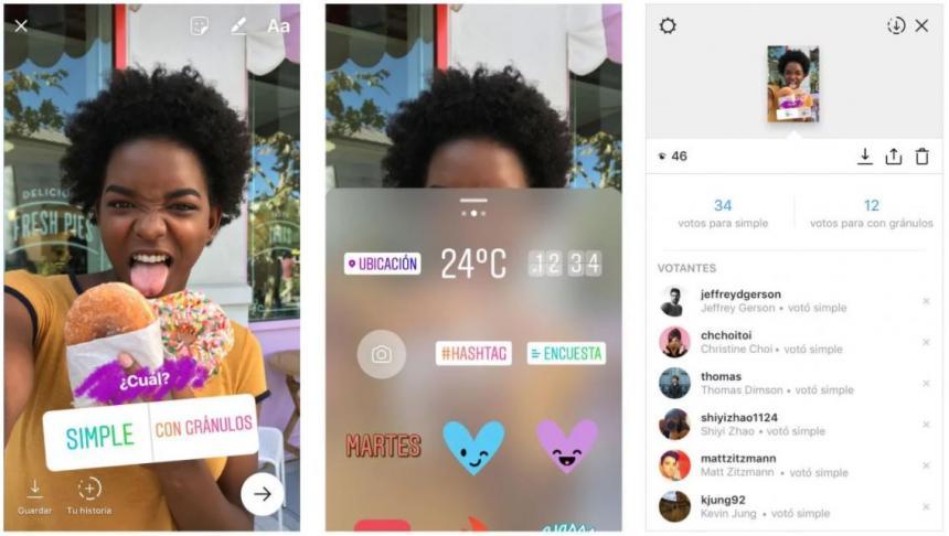 Instagram ahora permite hacer encuestas con resultados en tiempo ...