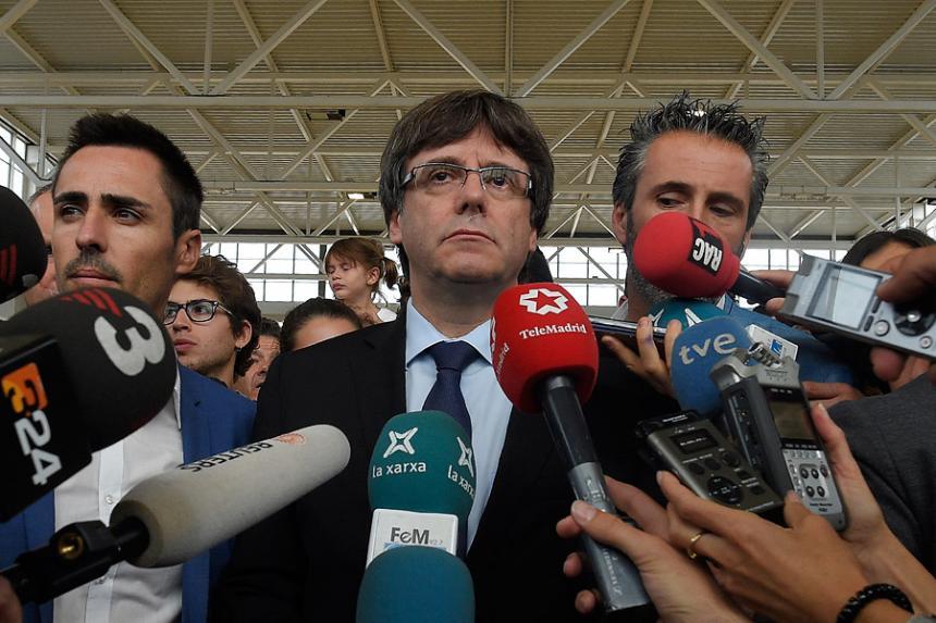 La Justicia suspendió el pleno del Parlamento de Cataluña — Tensión en España