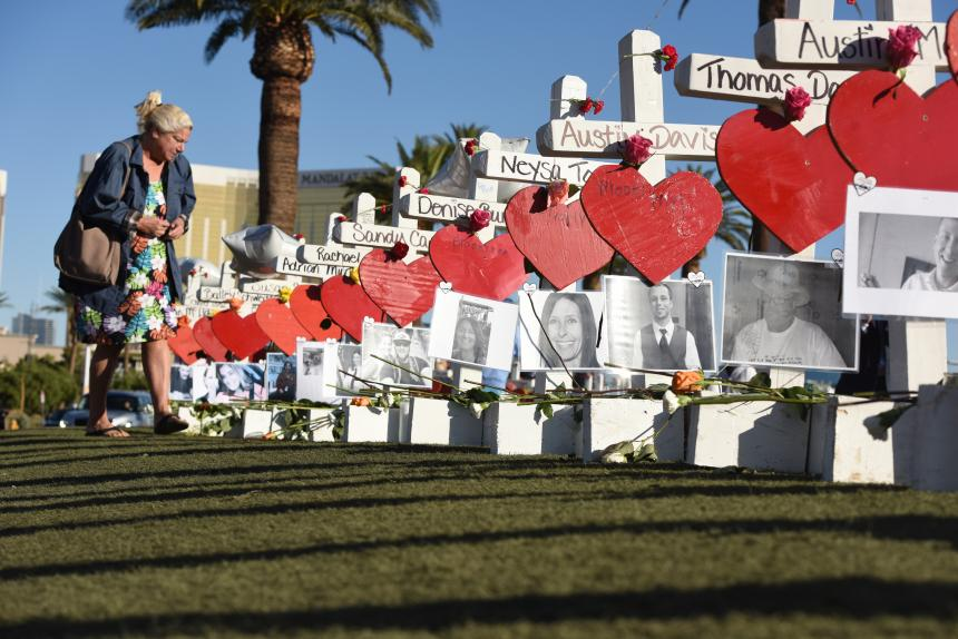 Pistolero de Las Vegas dejó nota con cálculos para matanza