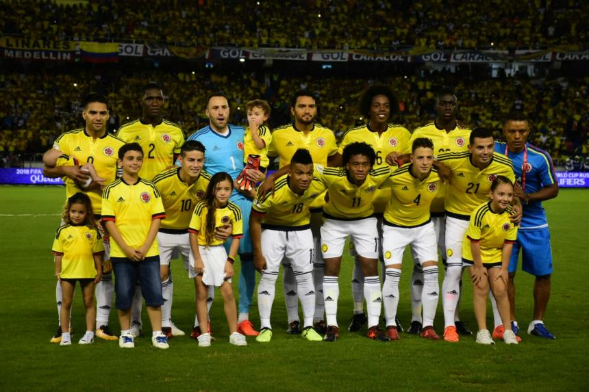 Se filtra la posible camiseta de Colombia para 2018