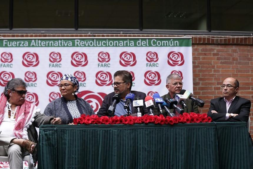 FARC oficializa su partido político para comicios 2018