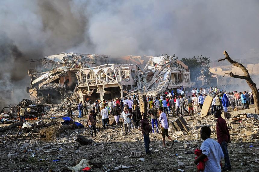 Explosión de vehículo en Somalia deja varios fallecidos