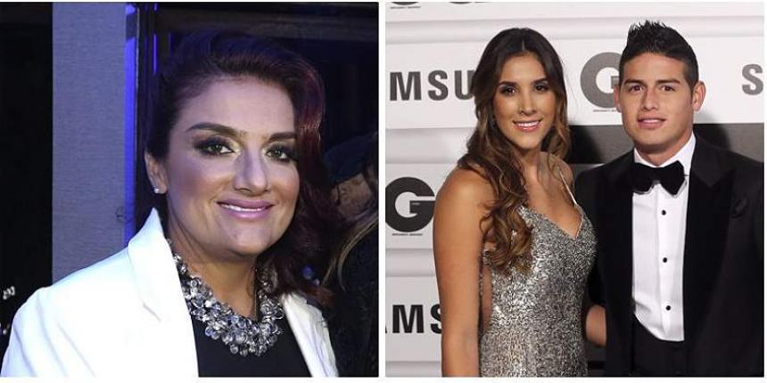 Madre de James Rodríguez habló de Daniela Ospina