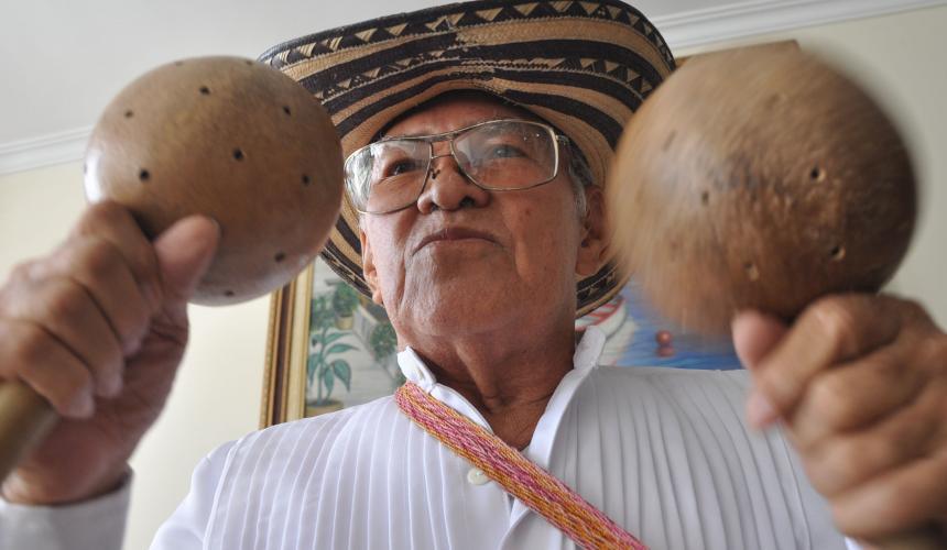 Falleció Efraín Mejía, ícono del Carnaval de Barranquilla