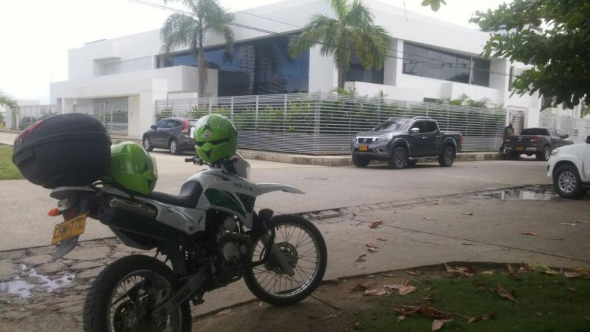 Roban casa de senador colombiano preso por corrupción en la Corte Suprema