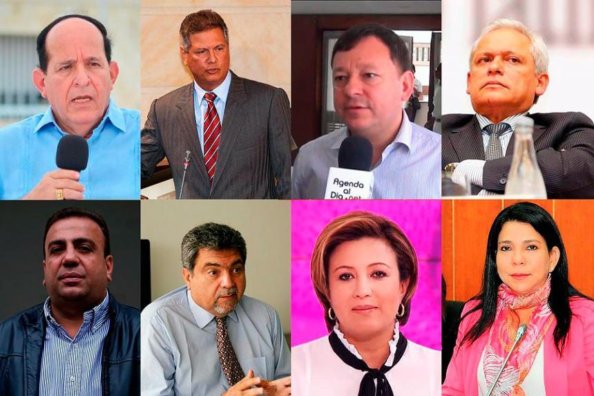 Por corrupción, Procuraduría abrió investigación a ocho congresistas