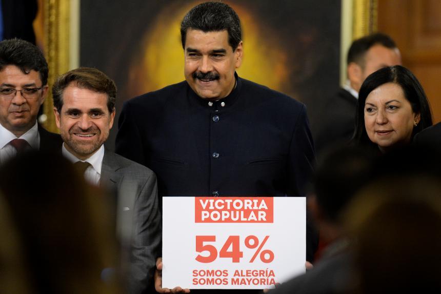 EEUU anuncia nuevas sanciones contra 10 funcionarios de Venezuela