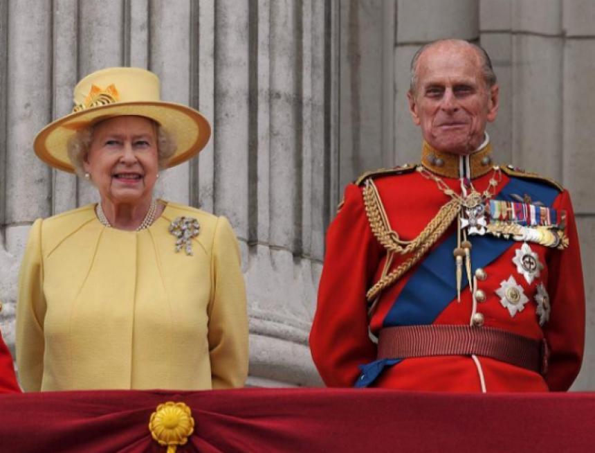 Londres Isabel II y el príncipe Felipe celebran bodas de platino