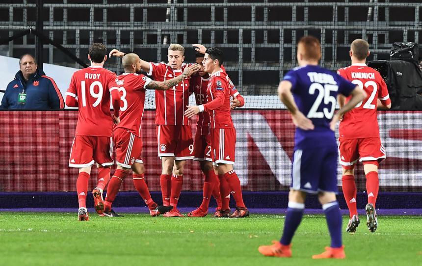 Arturo Vidal destacó en ajustado triunfo del Bayern Münich en Champions League