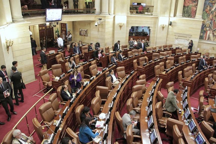 Gobierno colombiano solicitó al Congreso aprobar proyectos para implementar Acuerdo de Paz