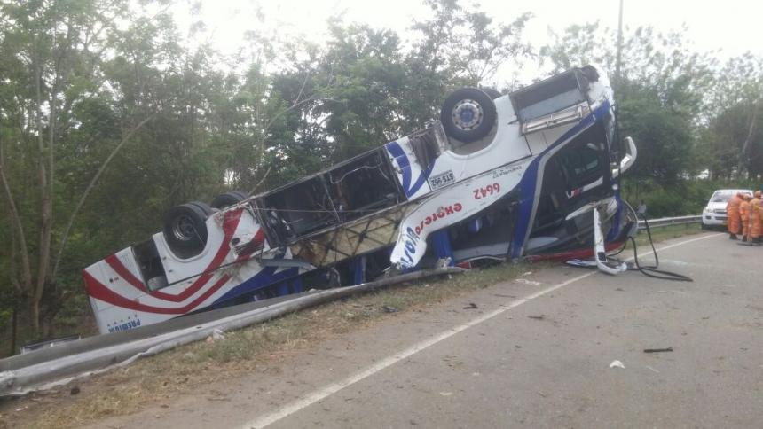 Accidente en vías de Córdoba deja cinco muertos