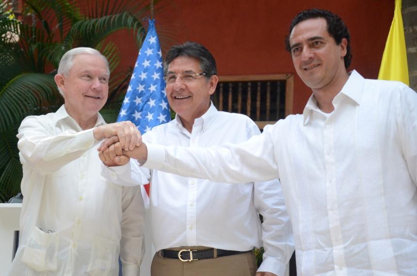 México, Estados Unidos y Colombia se unen contra el crimen transnacional