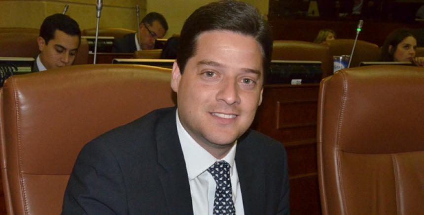 Mauricio Gómez, aspirante al Senado por el Partido Liberal