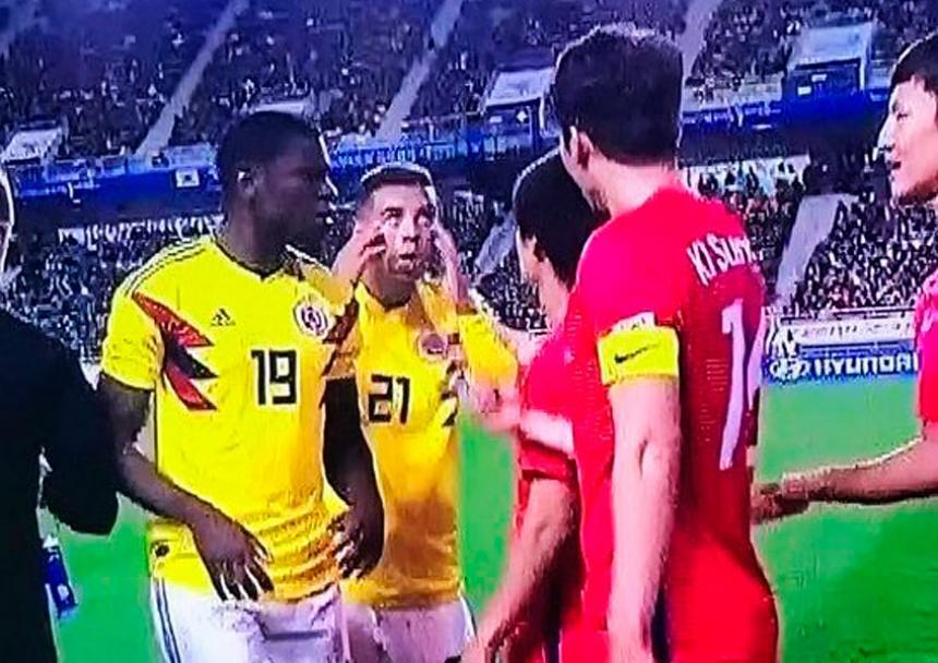 FIFA sancionó a Cardona con cinco juegos de suspensión