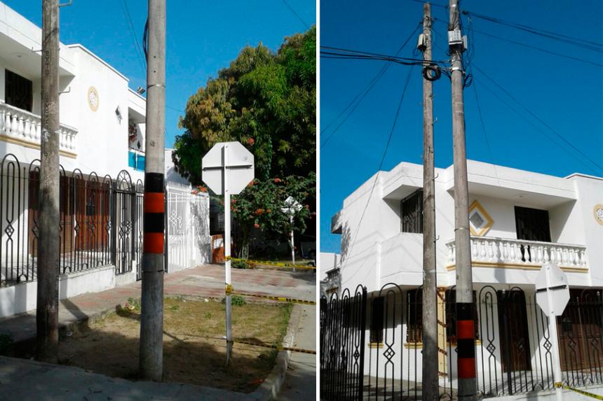 Reemplazan poste de telefonía caído en el barrio Modelo | El Heraldo