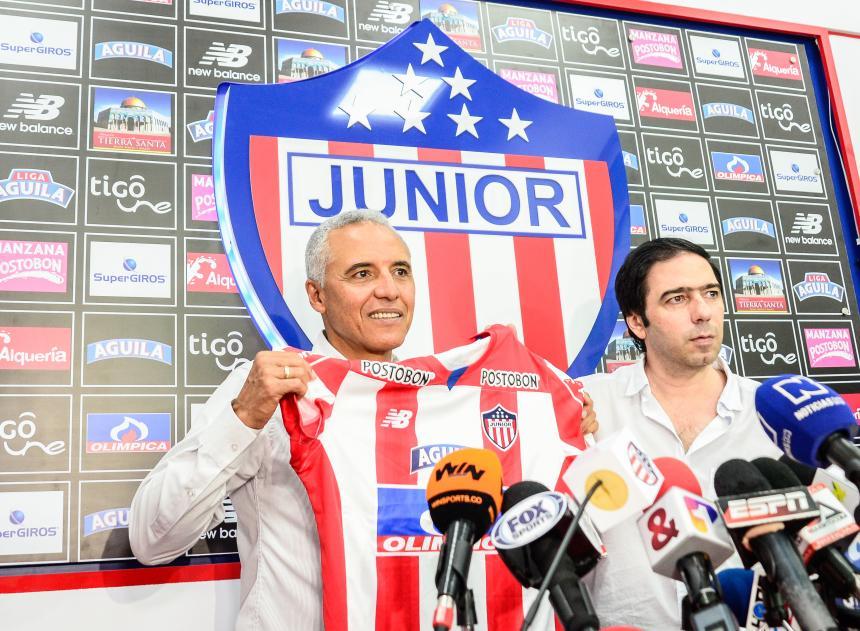Junior oficializó el regreso de Alexis Mendoza