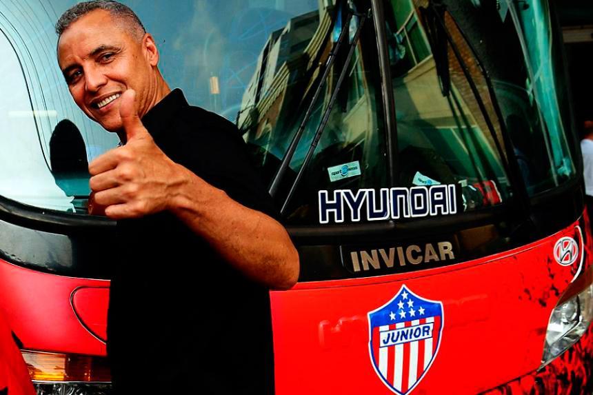 El barranquillero Alexis Mendoza retomará la conducción técnica de Junior. Archivo EL HERALDO