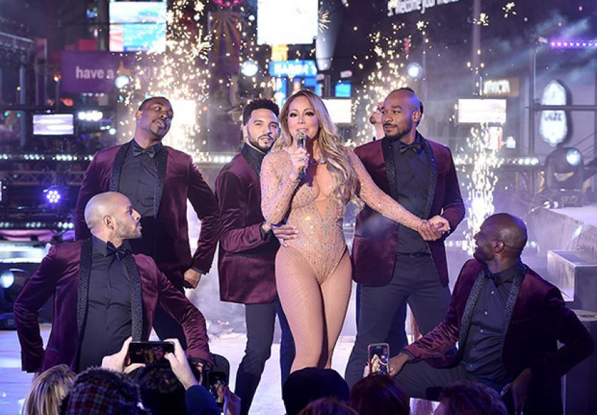 Mariah Carey busca la revancha en Times Square