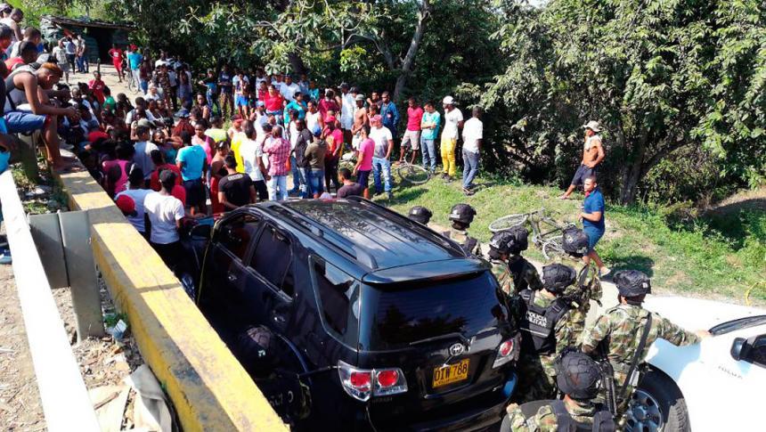 Dos civiles muertos en enfrentamientos con la Fuerza Pública