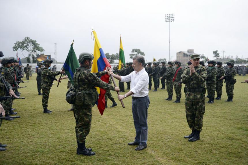 Santos activa operación militar en la región del Pacífico