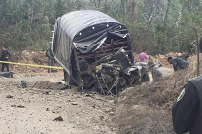 Seis policías heridos deja ataque con artefacto explosivo en el Meta