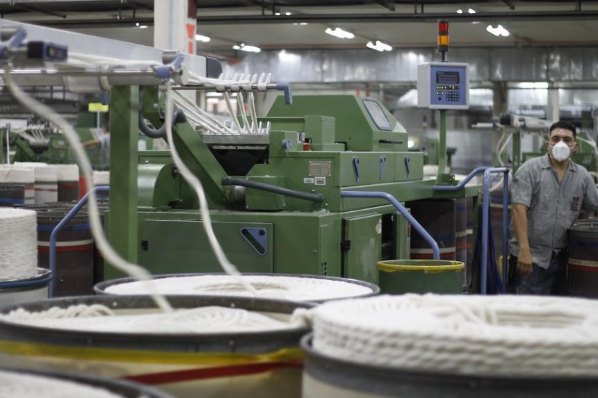 Industria reportó un leve repunte