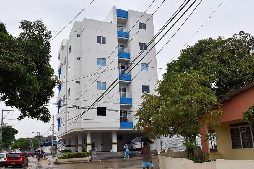 Riesgo por desplome en 16 edificios de Cartagena