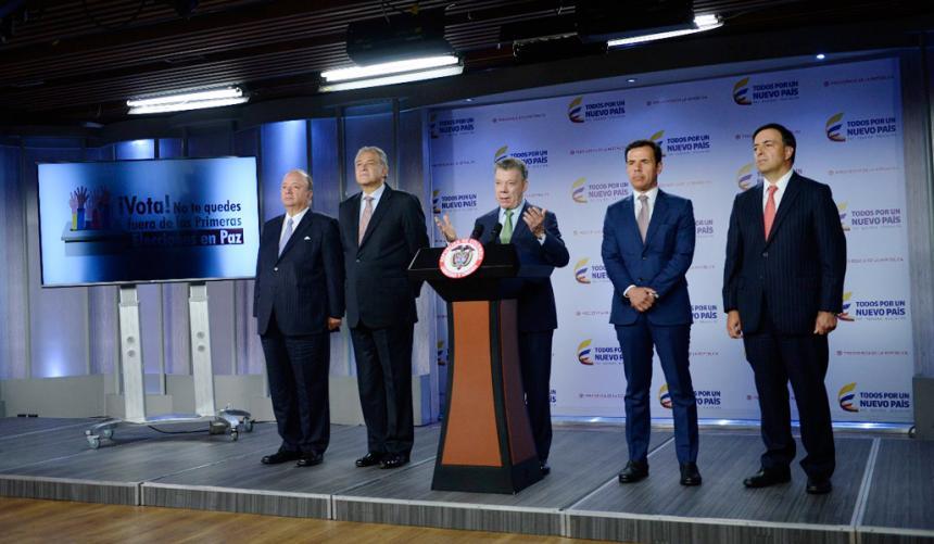 Presidente colombiano alerta sobre posibles ciberataques durante elecciones de este año