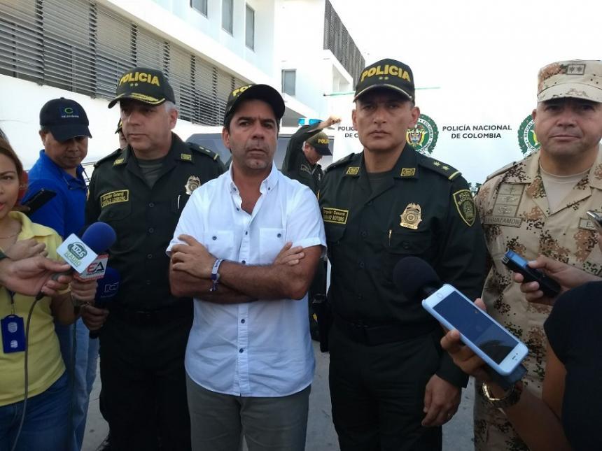 En fotos, los presuntos responsables de los atentados en Barranquilla