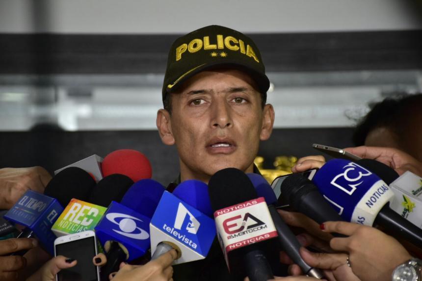 Murió sexto policía por atentado del ELN en estación de Barranquilla