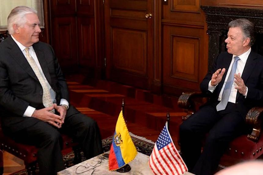 Macri recibió a Tillerson: Venezuela y el comercio fueron los principales temas