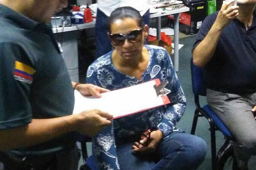 María Quiroz ya está en manos de la justicia colombiana