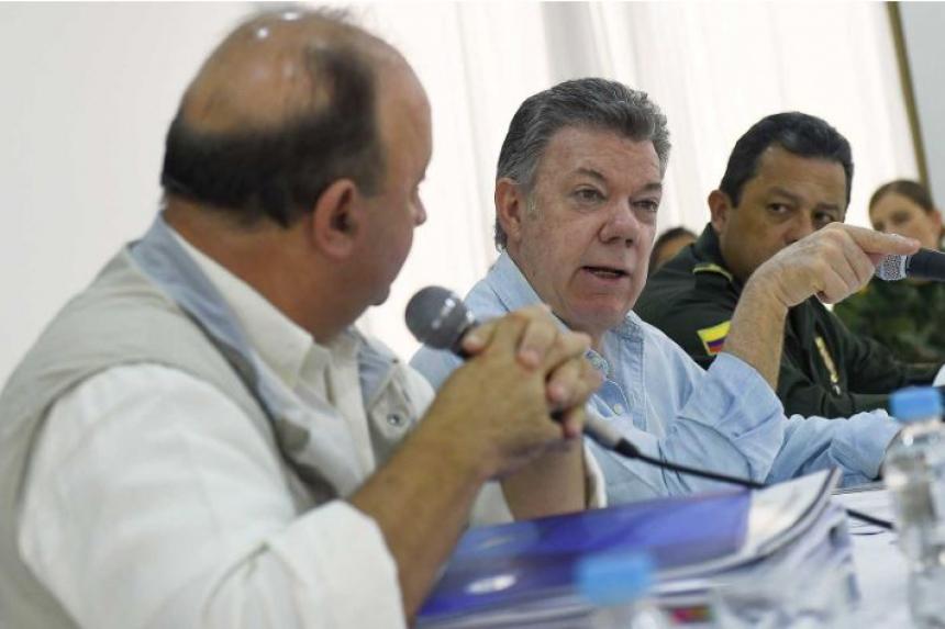 Presidente Santos encabeza este sábado Consejo de Seguridad en Arauca