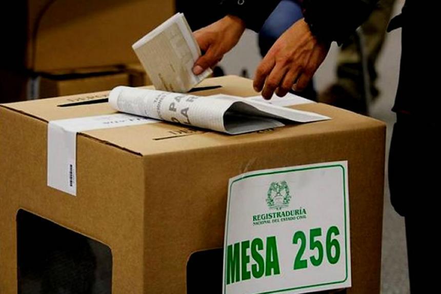 El 25% de Colombia está en riesgo electoral