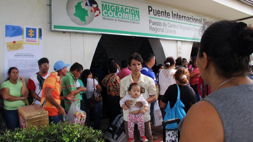 Migración en Colombia: Disminuye 30% paso de venezolanos tras controles