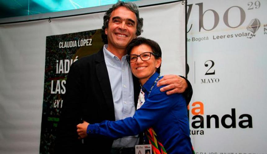 Claudia López es la fórmula vicepresidencial de Sergio Fajardo ...